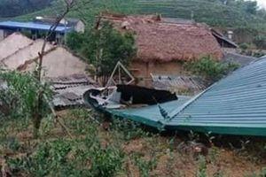 Thái Nguyên: 123ha lúa, 643 ngôi nhà bị thiệt hại do mưa đá, dông lốc