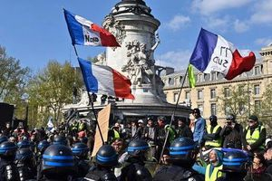 Pháp công bố kế hoạch đối phó phe 'áo vàng'