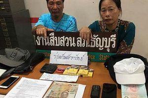 Cặp đôi người Việt bị bắt vì móc túi ở Thái Lan
