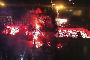 Đám cháy được khống chế, Tổng thống Pháp hứa sớm tái thiết nhà thờ Đức Bà