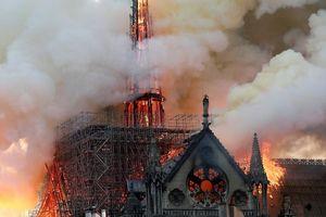 Hé lộ nguyên nhân vụ cháy Nhà thờ Đức Bà