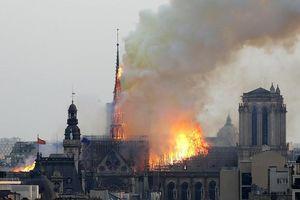 Vụ cháy Nhà thờ Đức Bà Paris: Nhiều nguyên thủ quốc gia bàng hoàng, tiếc nuối