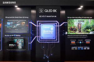 Mãn nhãn sự kiện ra mắt TV QLED 8K đầu tiên trên thế giới