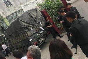 Nghệ An: Lực lượng cảnh sát vây bắt 4 đối tượng, thu giữ 600 kg ma túy đá