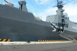 Hai biên đội tàu 011 – Đinh Tiên Hoàng và 015-Trần Hưng Đạo thăm Trung Quốc