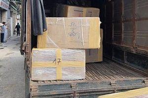 Bắt 4 đối tượng thu 600 kg ma túy trong xe tải