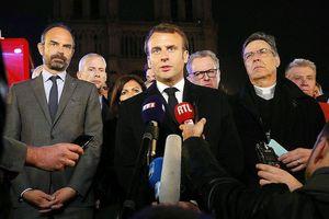 Pháp sẽ sớm khôi phục lại Nhà thờ Đức Bà Paris