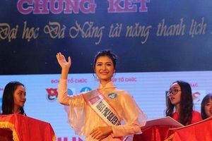 Chùm ảnh: Trai tài, gái sắc tham dự cuộc thi Sinh viên tài năng thanh lịch ĐH Đà Nẵng