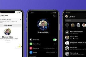Facebook chính thức ra mắt chế độ tối Dark mode cho Messenger