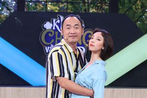 Vợ chồng Thu Trang - Tiến Luật 'rải thính' nhau không ngừng tại 'Khi chàng vào bếp'