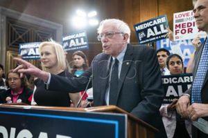 Thượng nghị sĩ Sanders bắt đầu chiến dịch tranh cử tổng thống Mỹ