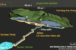 Quảng Bình không đồng ý xây cáp treo vào hang Sơn Đoòng