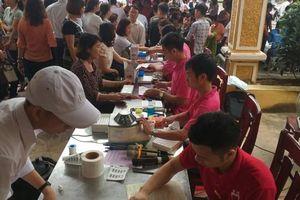 Huyện Ân Thi (Hưng Yên): Thu được 692 đơn vị máu hiến tình nguyện