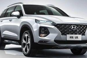 Hyundai Santa Fe 2019 bản trục cơ sở kéo dài chính thức trình làng tại Trung Quốc