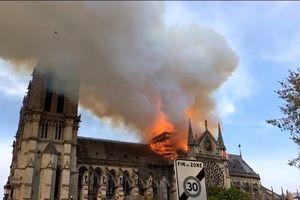 YouTube nhận nhầm vụ cháy Nhà thờ Đức Bà Paris là sự kiện 11/9
