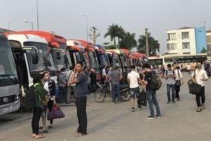 Hàng trăm xe khách đăng ký vào bến ở Hà Nội rồi 'vắng mặt' cả tháng