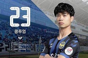 HLV tạm quyền của Incheon Utd chỉ ra điểm yếu của Công Phượng