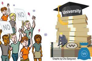 Hàn Quốc đột ngột tăng học phí, hàng loạt sinh viên nước ngoài bức xúc