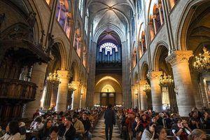 Nhà thờ Đức Bà Paris bị thiêu rụi: Chờ đợi hồi sinh