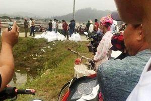 Bắt 3 người tháo chạy bỏ gần 1 tấn nghi là ma túy ở Nghệ An