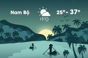 Thời tiết ngày 17/4: Nắng nóng gia tăng trên diện rộng ở Nam Bộ