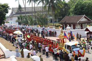 Tết Lào ở Luang Prabang