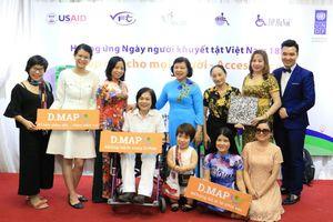 Giúp người khuyết tật tiếp cận các dịch vụ xã hội thuận lợi