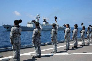 Vì sao Mỹ không cử tàu chiến đến diễu binh tại Trung Quốc?