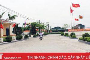 Xây dựng nông thôn mới ở đô thị trung tâm Hà Tĩnh