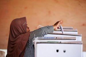 Indonesia bắt đầu cuộc bầu cử 1 ngày lớn nhất thế giới