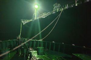 Bắt tàu nước ngoài buôn lậu xăng dầu trên biển Việt Nam