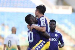 Đồng đội Quang Hải lập hat-trick, Hà Nội đè bẹp Yangon United trên sân khách