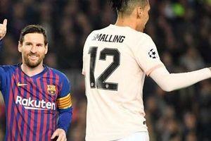 Cận cảnh Messi và Coutinho phá lưới M.U đưa Barca vào bán kết