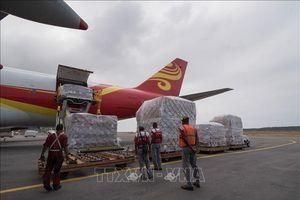 Chuyến hàng viện trợ đầu tiên của IFRC tới Venezuela