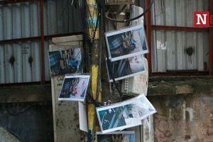 Hà Nội: Treo ảnh người đổ rác trộm, con phố bỗng trở nên sạch bóng