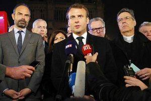 Tổng thống Pháp cam kết phục dựng Nhà thờ Đức Bà trong 5 năm tới 'còn tuyệt đẹp hơn'