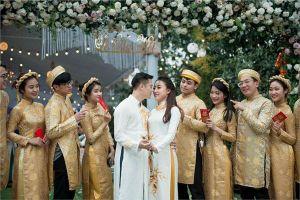 Thân thế 'siêu khủng' của cô dâu trong đám cưới xa hoa ở Hưng Yên, mời Đan Trường về biểu diễn
