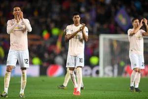 Man Utd nhận thất bại tệ nhất ở vòng knock-out Cup châu Âu