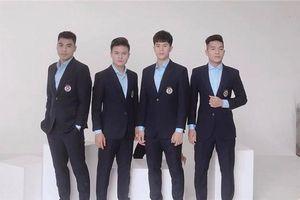 Đọ độ 'nam thần' của các cầu thủ U23 Việt Nam khi diện suit