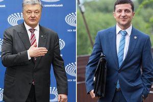 Bầu cử Ukraine: Diễn viên hài Zelenskiy vượt số phiếu bầu Tổng thống đương nhiệm Petro Poroshenko