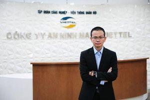 CEO công ty An ninh mạng Viettel: 'Chúng tôi cung cấp cách làm an toàn thông tin chứ không bán sản phẩm đơn thuần'