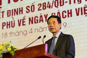 'Ngày sách Việt Nam' chấn hưng nét đẹp văn hóa lâu đời