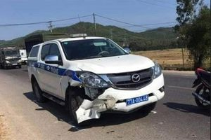 Điều tra nguyên nhân xe CSGT va chạm, làm tài xế xe gắn máy tử vong