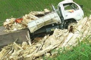 Bắc Kạn: Xe tải gặp nạn khi leo dốc, 1 người tử vong