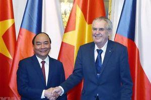 Tăng cường tình hữu nghị Việt Nam - CH Czech