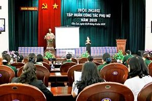 Quân đoàn 3 khai mạc hội nghị tập huấn công tác phụ nữ năm 2019