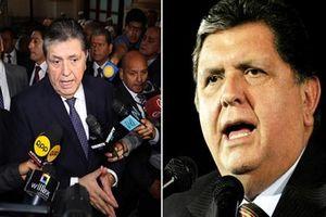 Chân dung cựu Tổng thống Peru vừa tự sát bằng súng