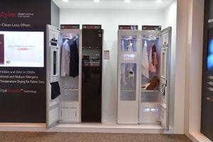 LG đem tủ chăm sóc quần áo thông minh Styler về Việt Nam