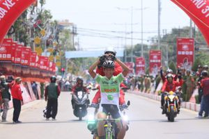 Chiến thắng đáng nhớ của tay đua trẻ Võ Thanh An