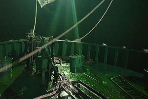 Triệt phá đường dây buôn lậu xăng dầu tại vùng biển Quảng Ngãi